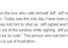 We all need Jeff,