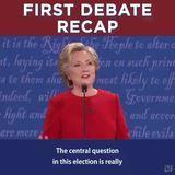 Debate recap.