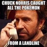 'cuz Chuck Norris is 'murikuh!
