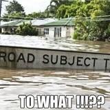 When it floods in Australia